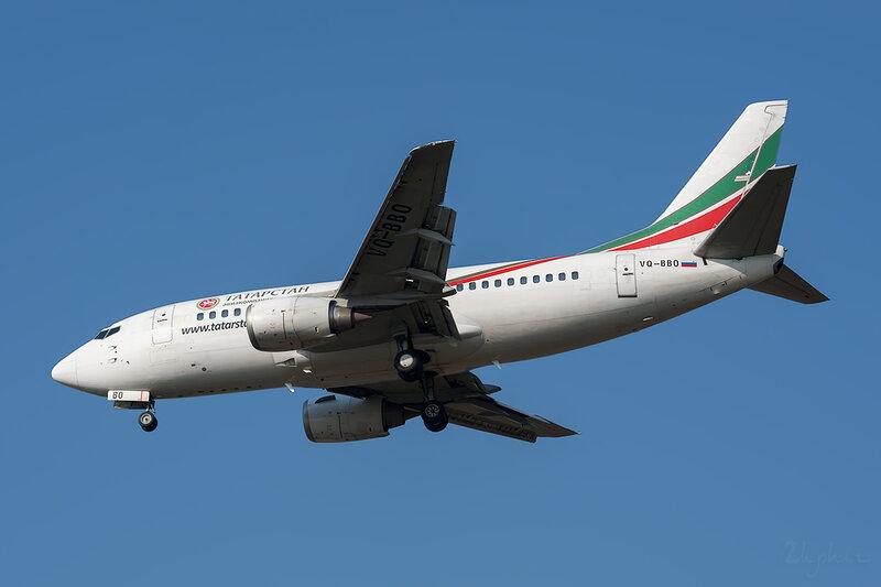 Boeing 737-548 (VQ-BBO) Татарстан DSC6674