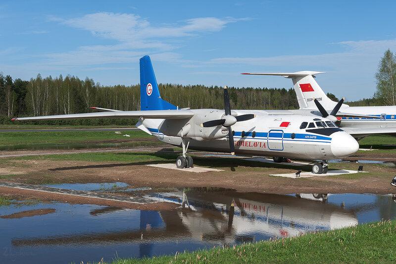 Антонов An-24РВ (EW-47291) Гомельавиа D706315