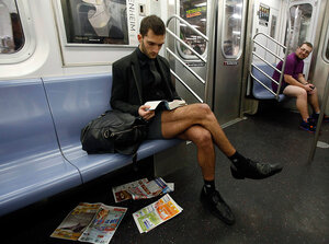 Праздник трусов или «День без штанов» в 25 странах