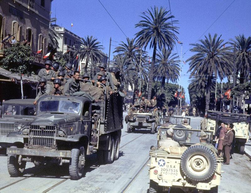 70 лет назад закончилась война в Северной Африке. Тунис и Ливия 1943 года в цвете