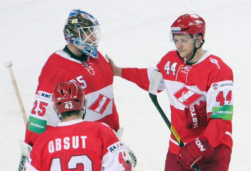 «Спартак» vs «Лев» 0:2 чемпионат КХЛ 2012-2013 (Фото)