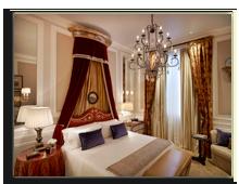 Италия. Флоренция. The St. Regis Florence. Deluxe Room - Medici style