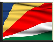 Сейшелы. Государственный флаг. Фото Anton_Sokolov. Depositphotos