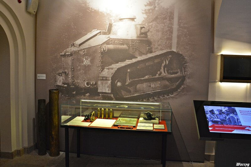На фото французский танк Рено FT-17