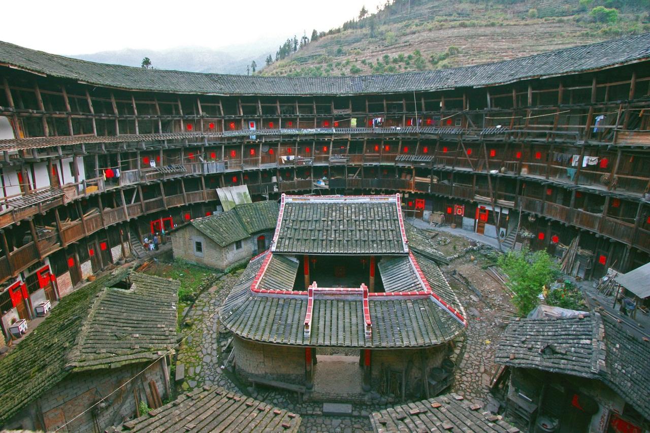 Les tulou de Fujian (Chine), 46 maisons de terre