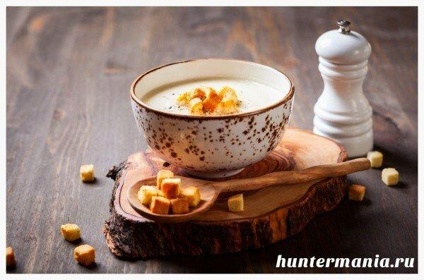 Суп-пюре из цветной капусты (рецепт)