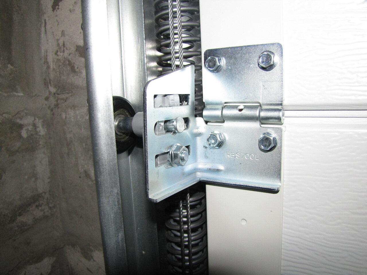 Комплектующие для гаражных ворот своими руками
