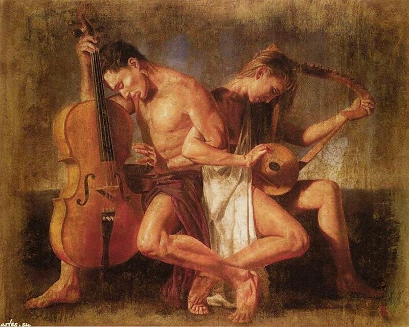 Музыку мелодия любви