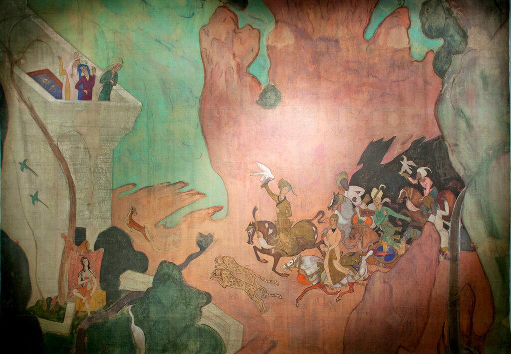 Занавес к балету Шехеразада, 1911.jpg