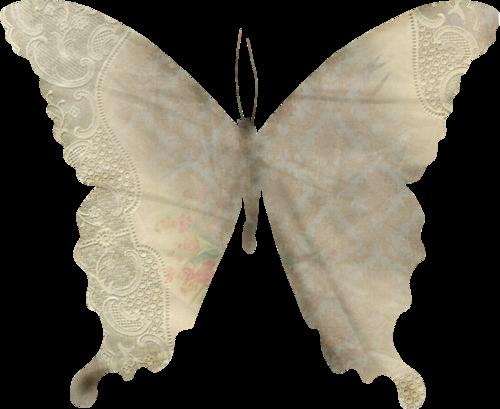 Thème : insectes - tubes papillons en papier