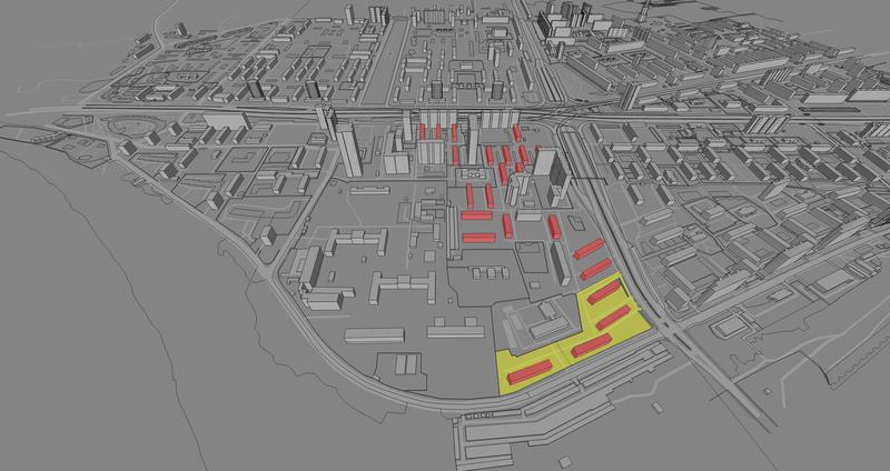 Карта сноса пятиэтажек в Хорошево-Мневниках.