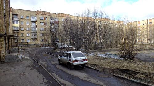 Фото города Инта №4368  Двор Мира 43 (а также Мира 41 и Воркутинская 15) 07.05.2013_13:24