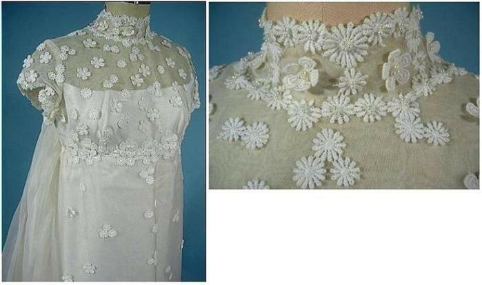 Какие раньше были свадебные платья: эволюция наряда невесты в 1870 1980 х годах