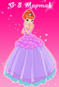 Принцесса спасает принца - игра для winx land