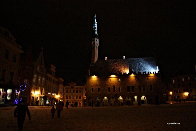 Ночной Таллин