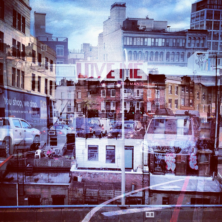 Daniella Zalcman. Нью-Йорк+Лондон. Архтектурно-Instagram-ные миражи