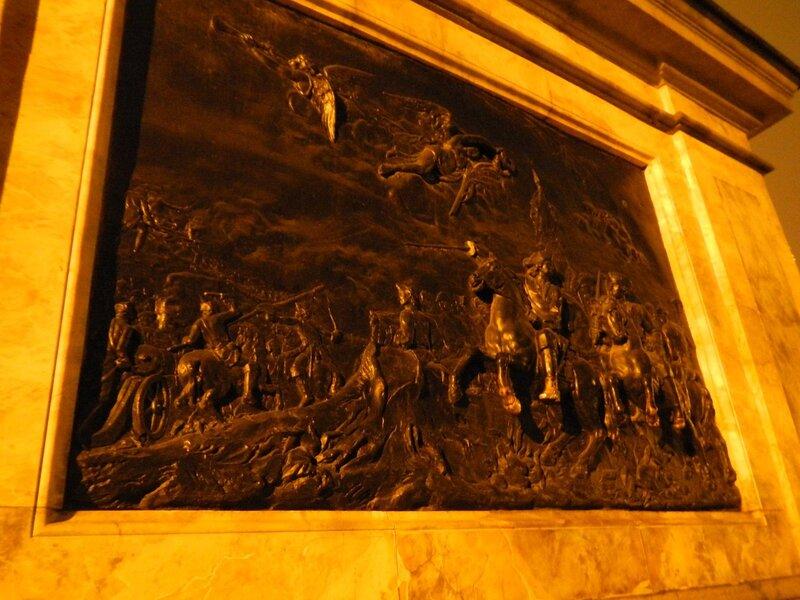 Основание памятника Петру I у Михайловского замка