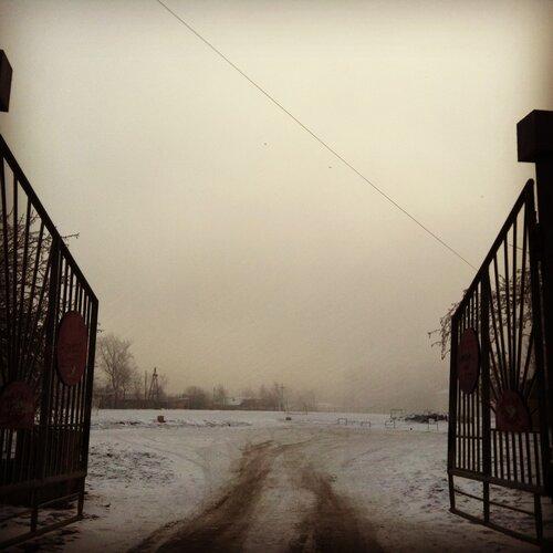 Ворота в ДОСААФ