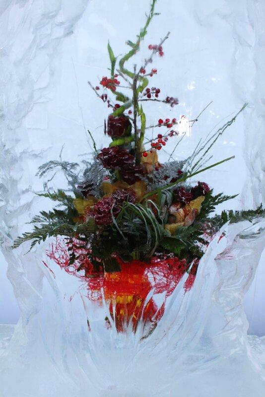 Экспонат Выставки цветов Снежной Королевы