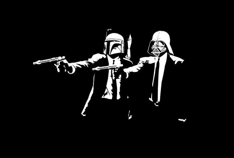 Звездные войны Криминальное чтиво Star Wars Pulp Fiction