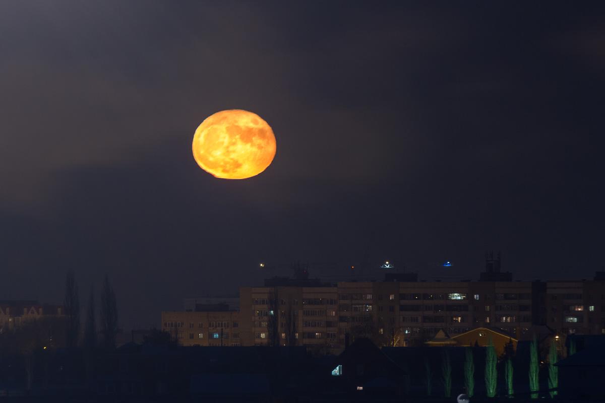 луна, суперлуние фото 1