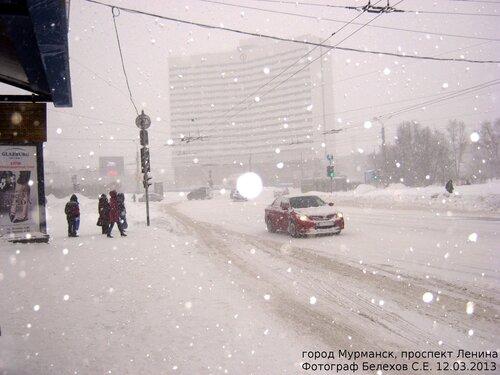 Мурманск, весна