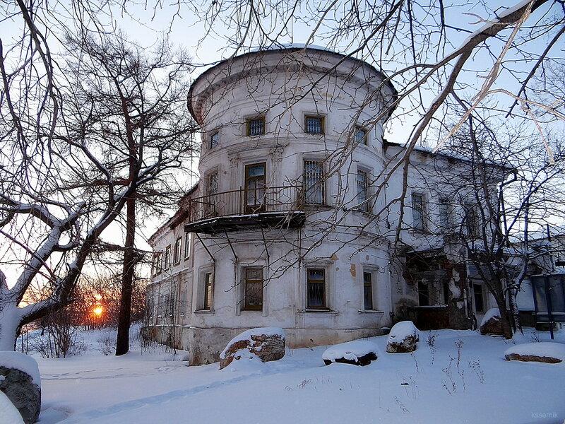 Дом заводоуправителя в городе Реж.