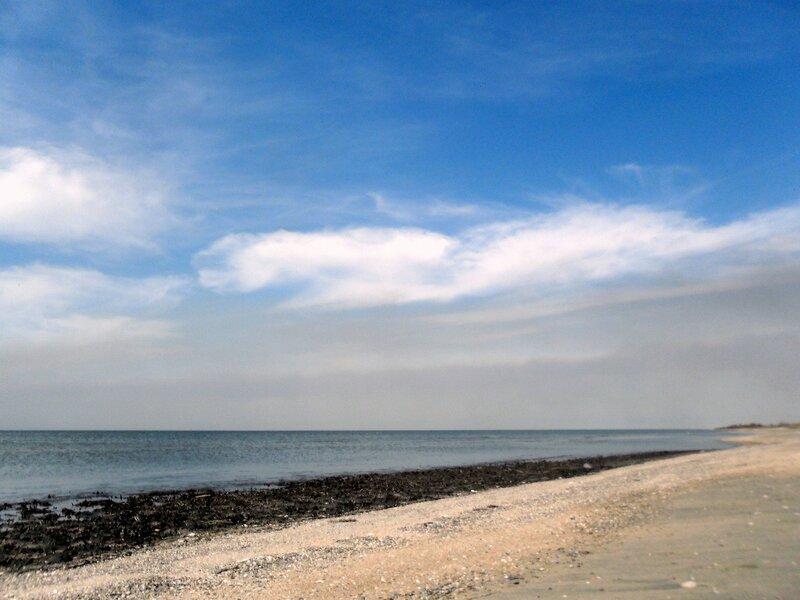 Стоянка на Азовском берегу