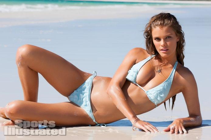 Nina Agdal / Нина Агдал в купальниках в каталоге Sports Illustrated Swimsuit 2013 / фотограф James Macari