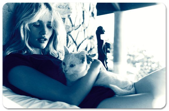 Rosie Huntington-Whiteley / Роузи Хантингтон-Уайтли в журнале Vogue Испания, март 2013 / фотограф Michelangelo di Battista
