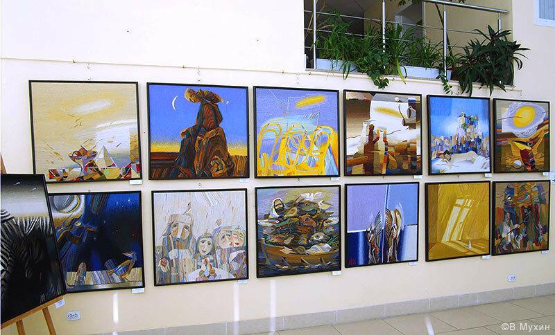 Выставка в Коломне. 2015