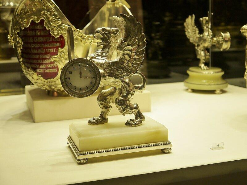 Часы от Фаберже