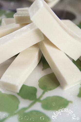 Как сделать белую мыльную основу, белое мыло, рецепт мыльной основы