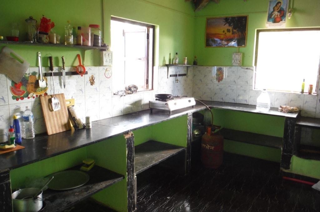 Общая кухня в нашем гесте