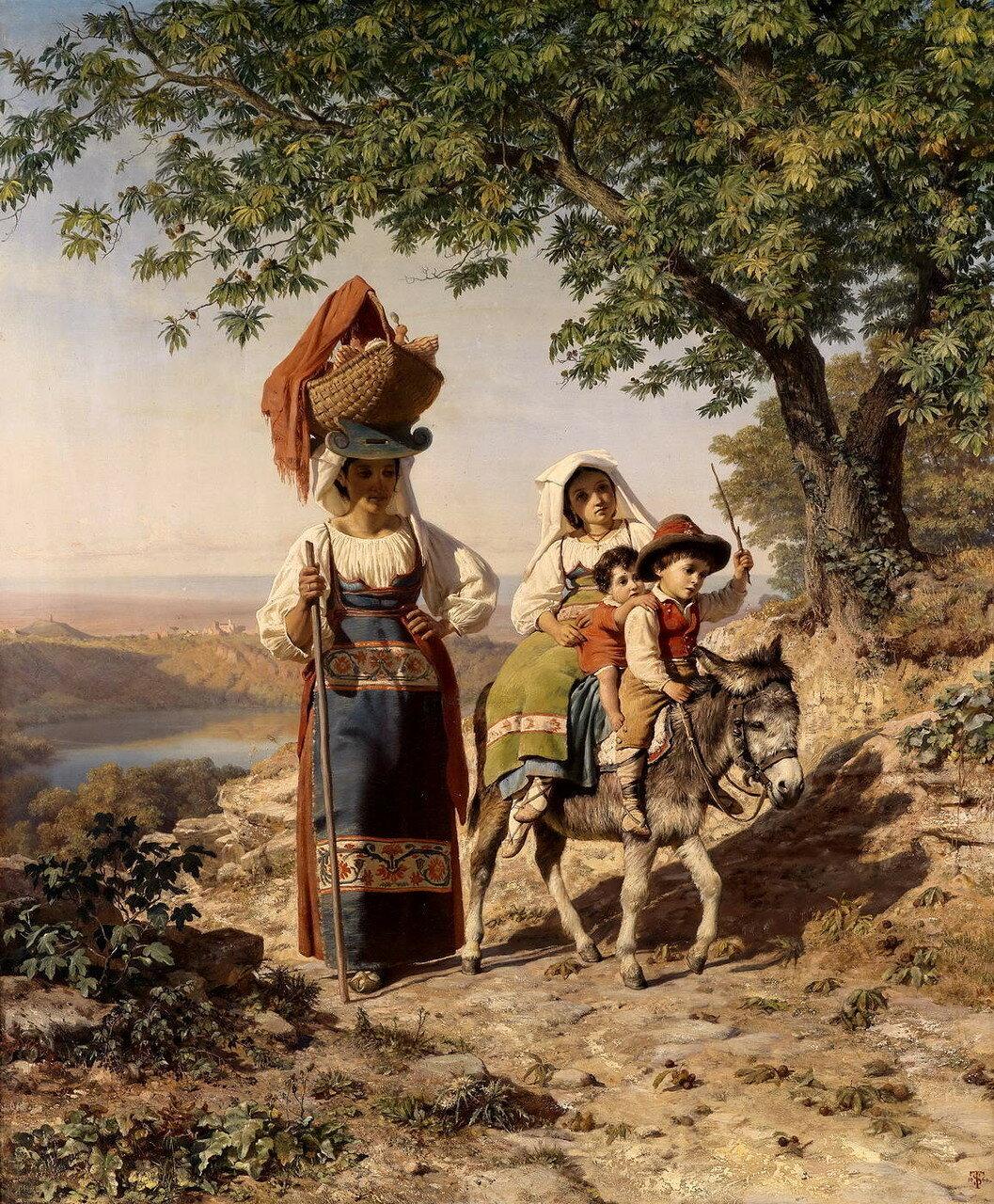 Frederik Ludvig Storch (Denmark, 1805 - 1883)