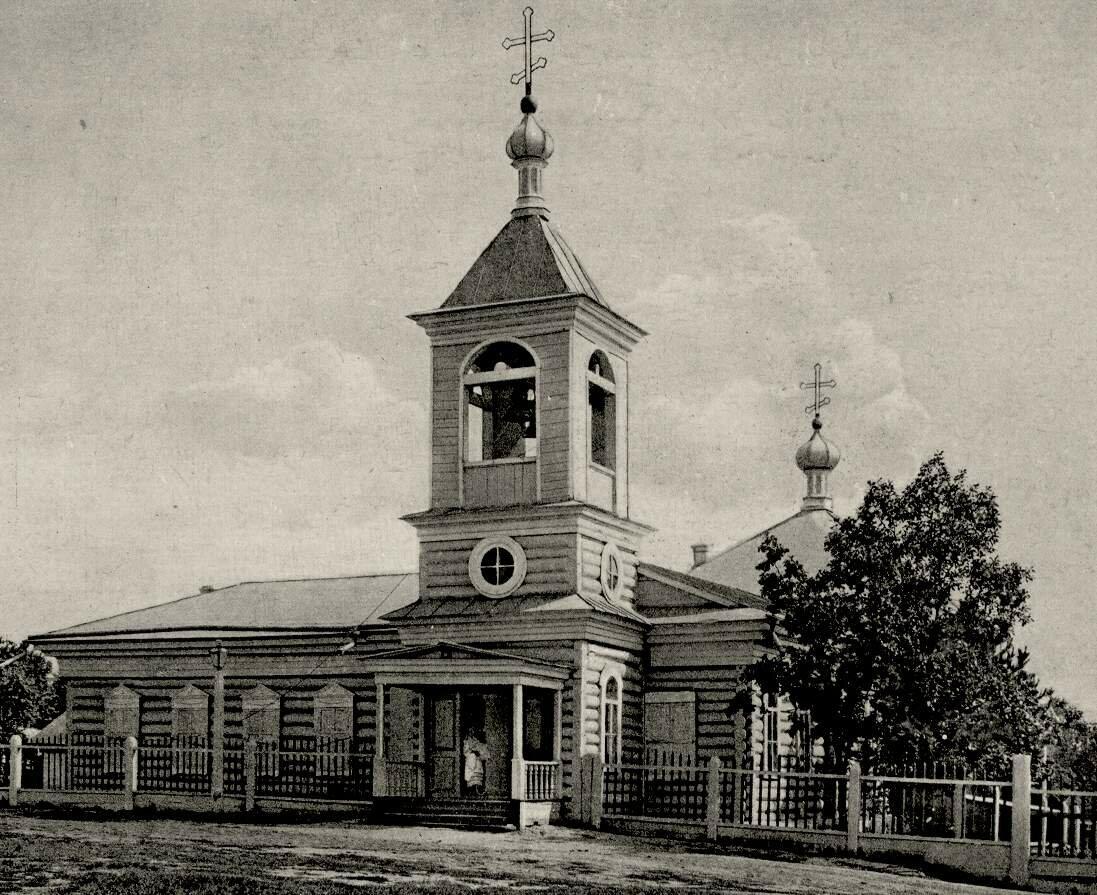 Михайло-Архангельская церковь-школа (1892 г.) Сгорела