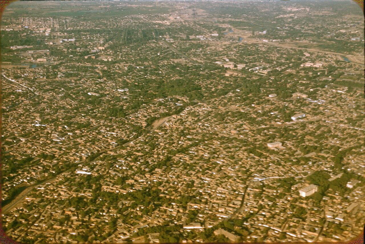 36.Ташкент, вид с самолёта