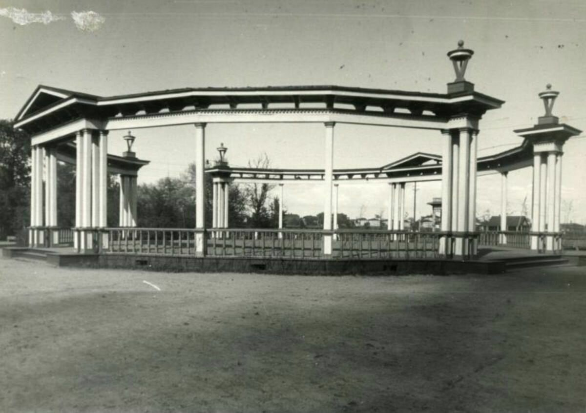 Танцплощадка 1951 год