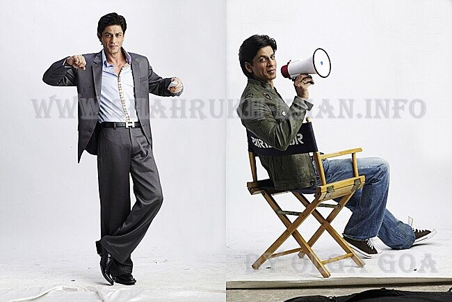 Shah Rukh Khan - реклама DISH TV (редкое фото)
