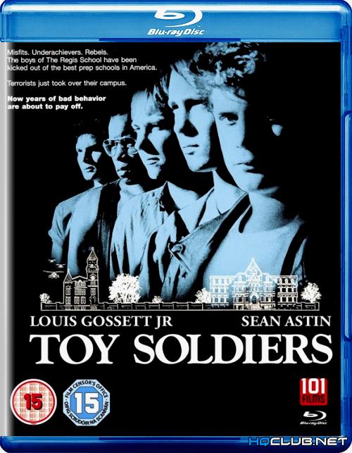 Игрушечные солдатики / Toy Soldiers (1991/HDRip)