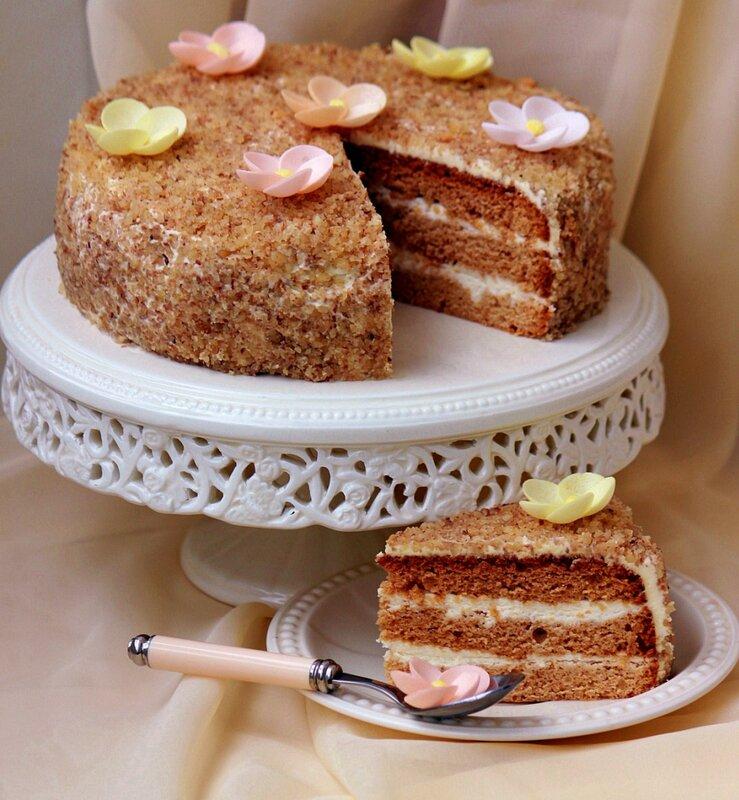 Медовик в мультиварке торт медовый