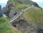 Carrick-a-Rede Rope Bridge North Ireland 28/10/2012