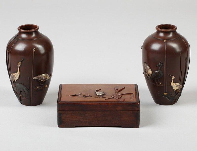 【引用】日本·古董花瓶 - 枫林傲然 - .