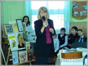 Встреча с писательницей Марией Мокану прошла в Бельцах