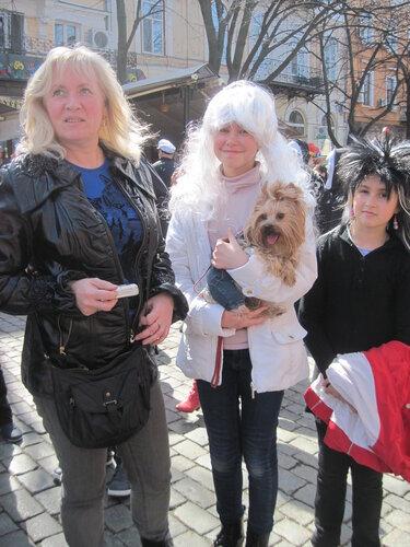 Юморина, Одесса, 2013, собачка