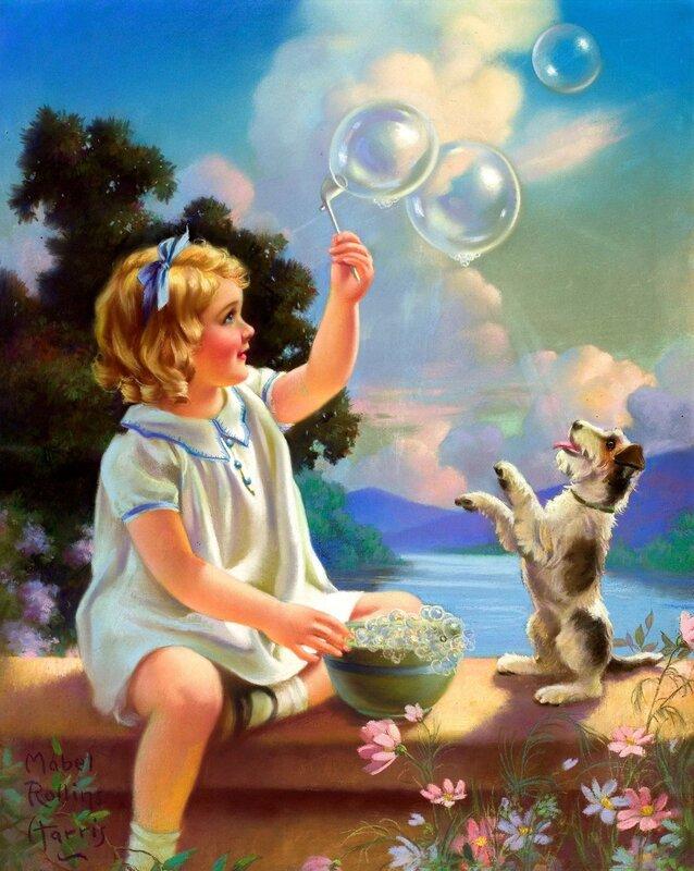 Детство-целый мир чудес!