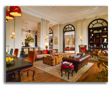 Италия. Флоренция. The St. Regis Florence. Lounge.Library