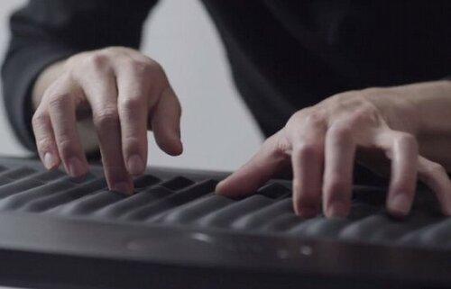 Новая клавиатура для синтезатора ROLI Seaboard