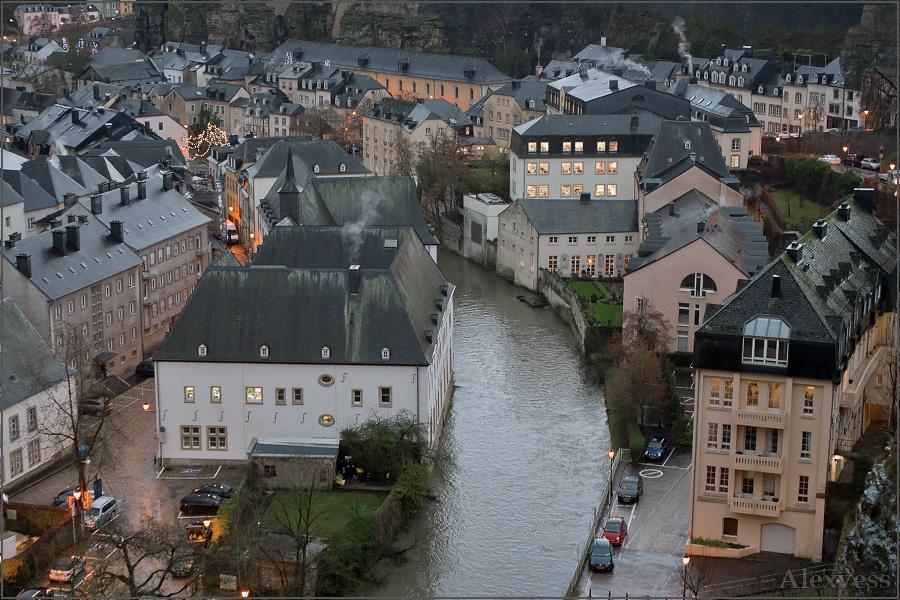 Rain in Luxembourg/ Дождь в Люксембурге