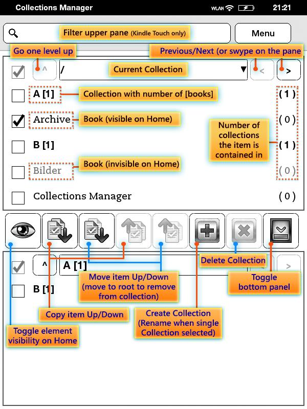 Как создать коллекцию kindle 4 - Корпоративный портал